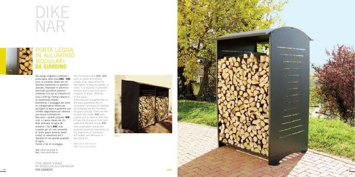 Fivestarsitalybrochure porta legna for Porta legna da esterno