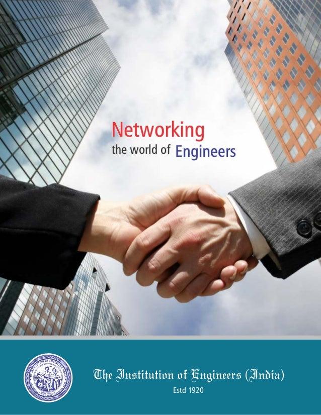 Estd 1920 NetworkingNetworkingNetworking the world ofthe world ofthe world of EngineersEngineersEngineers