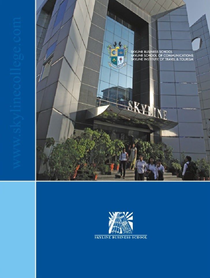 MissionThe mission of Skyline EducationGroup is to provide its studentswith the best professional careerprospects in the e...