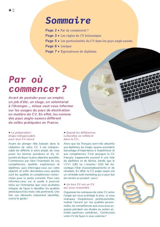brochure r u00e9diger son cv en anglais