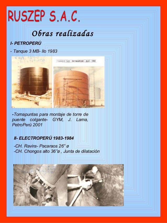 Conociendo a la empresa ruszep sac for Silenciador cisterna