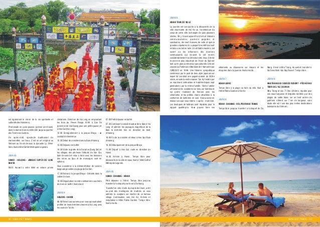 22 - KHOA VIET TRAVEL KHOA VIET TRAVEL - 23 est eùgalement le miroir de la vie spirituelle et culturelle des Hanoiens). Pr...