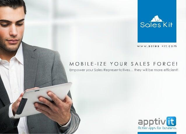 Sales kit Brochure