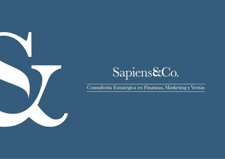 Brochure Sapiens&Co.