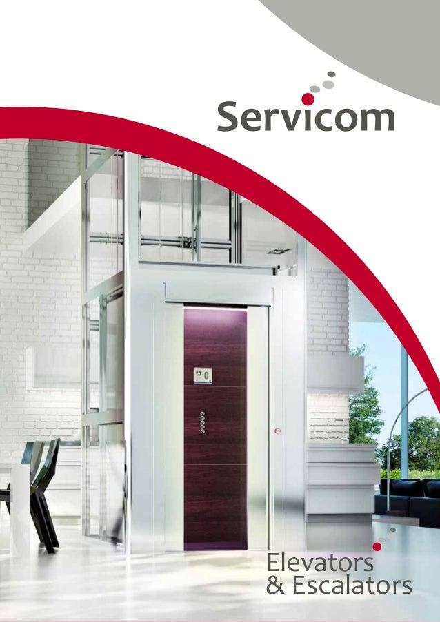 1  Elevators  & Escalators