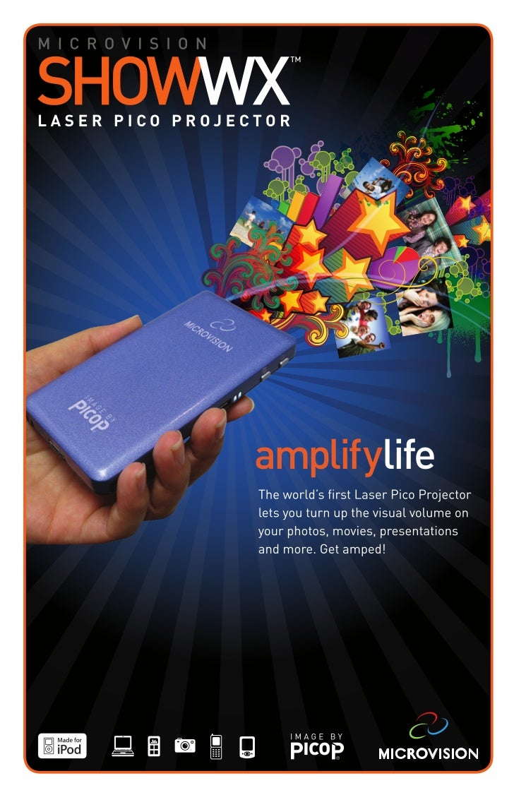 amplifylifeView or share photos, movies, TV shows,music videos, YouTube™ podcasts or                      ,presentations.W...