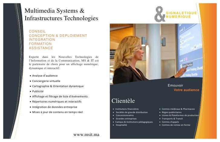 Multimedia Systems &                                                                                   SIGNA L ETIQU E    ...