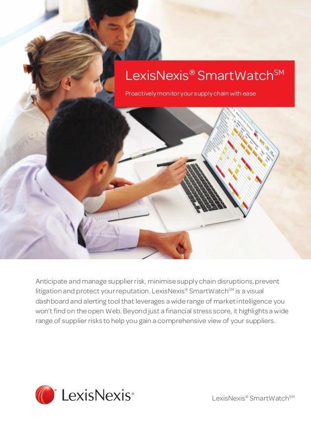 Brochure: SmartWatch
