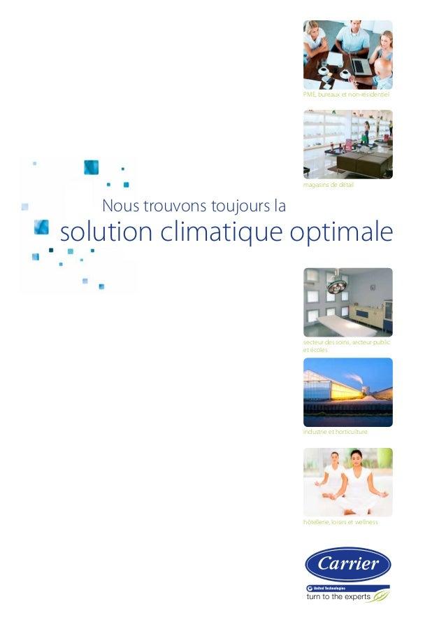 PME, bureaux et non-résidentiel  magasins de détail    Nous trouvons toujours la  solution climatique optimale  secteur d...