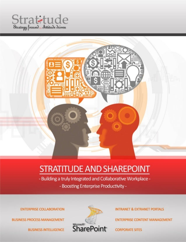 StratitudeSharePointServicesAt Stratitude, we are committed to be your end-to-end SharePoint implementation partner.We hav...