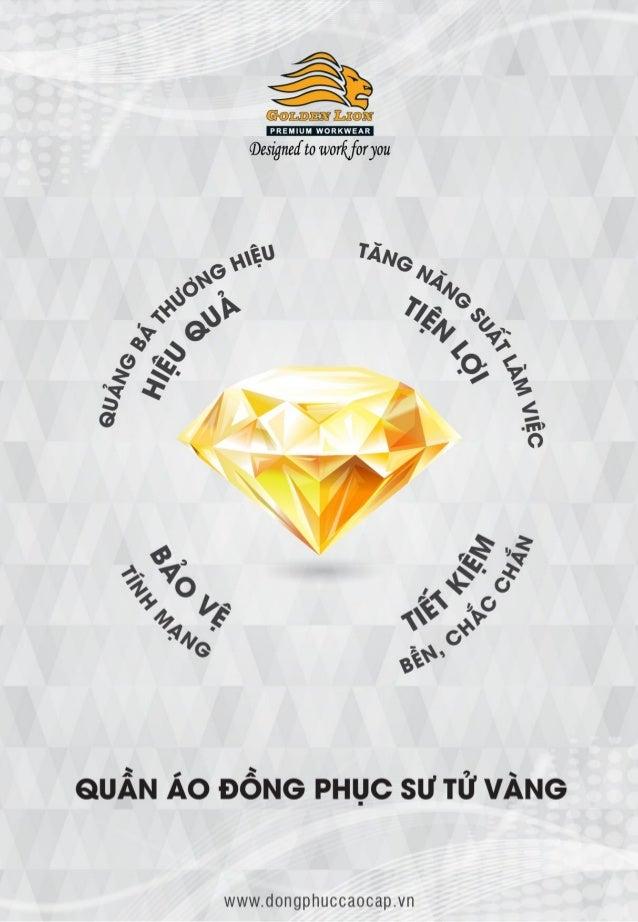 Giới thiệu quần áo đồng phục Sư Tử Vàng