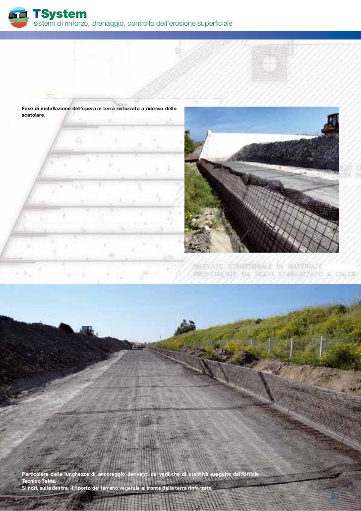Tema Terre Rinforzate.Brochure Terre Rinforzate