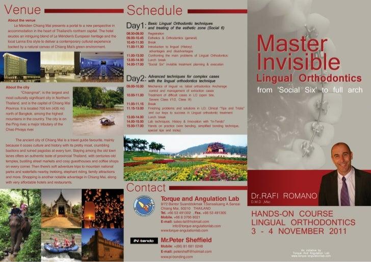 Romano Rafi- Lingual course Thailand , Nov 2011