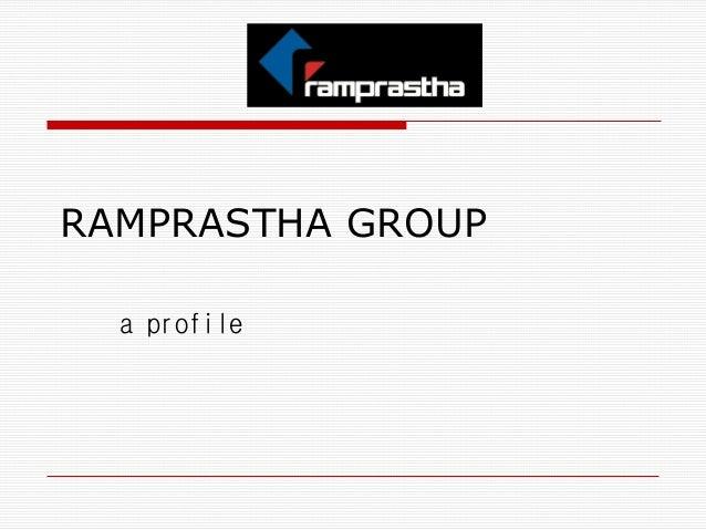 "Ramprastha ""The View"", Sec.37D, Dwarka Expressway, Gurgaon"