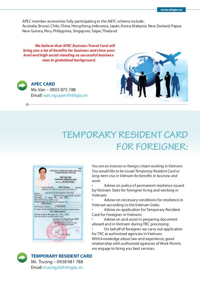 Apec Business Card Application Australia Gallery - Card Design And ...