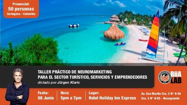 Presencial: 50 personas Cartagena - Colombia Fecha: 08 Junio Hora: 5pm a 7pm Lugar: Hotel Holiday Inn Express Av. San Mart...