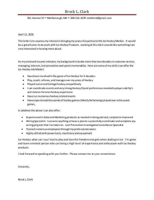 Sports Cover Letter. Berkeley Law Cover Letter Resume Outline