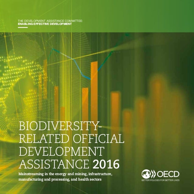 25 BIODIVERSITY-RELATED OFFICIAL DEVELOPMENT ASSISTANCE 2016 BIODIVERSITY- RELATED OFFICIAL DEVELOPMENT ASSISTANCE 2016 Ma...