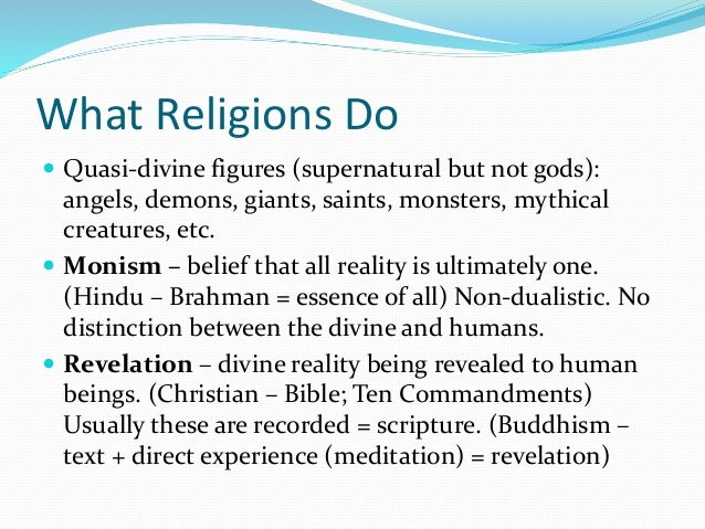 an analysis of themes and beliefs in religions of the world Apocalyptic beliefs - a summary in recent posts, i have been examining the apocalyptic beliefs found in judaism, christianity, other religions and secular political ideologies it's now time to sum up • god will judge the world.