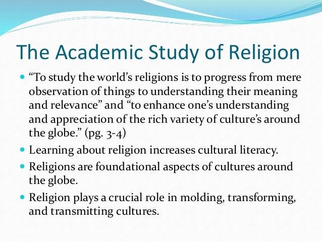 academic study of religion