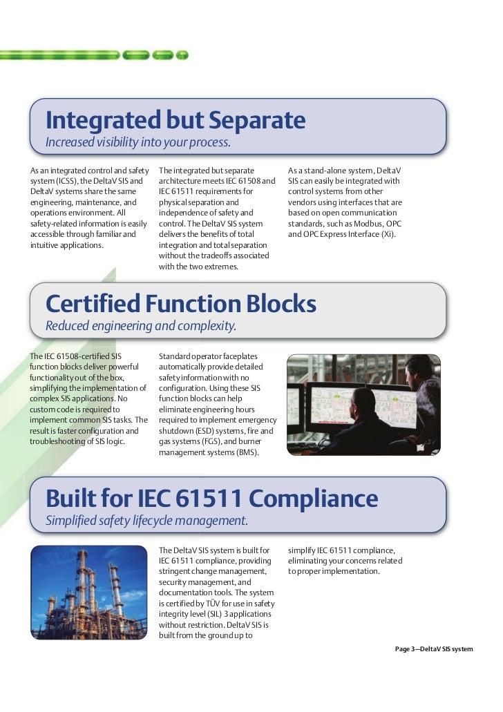 Deltav safety instrumented system overview for Delta v architecture