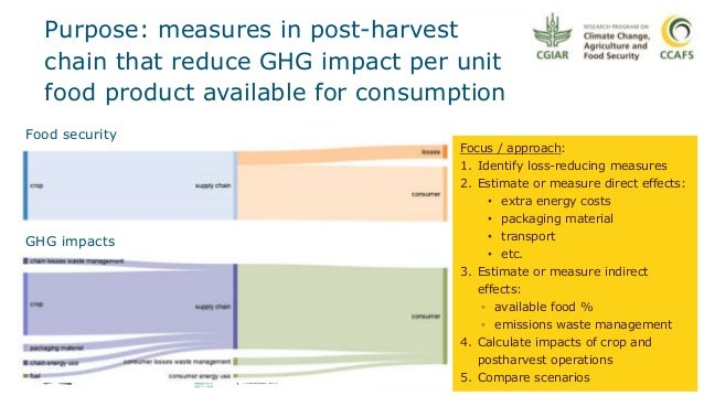 Developing a model to estimate reduced food loss and waste