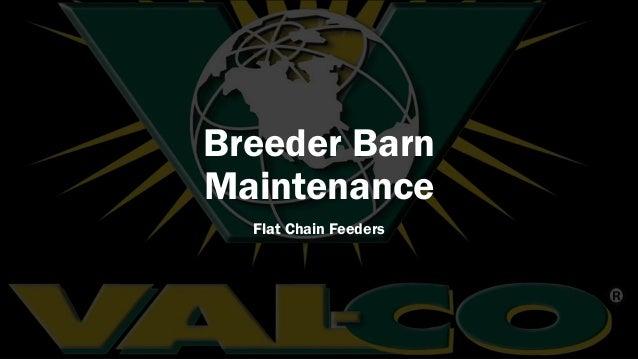 Breeder Barn Maintenance Flat Chain Feeders