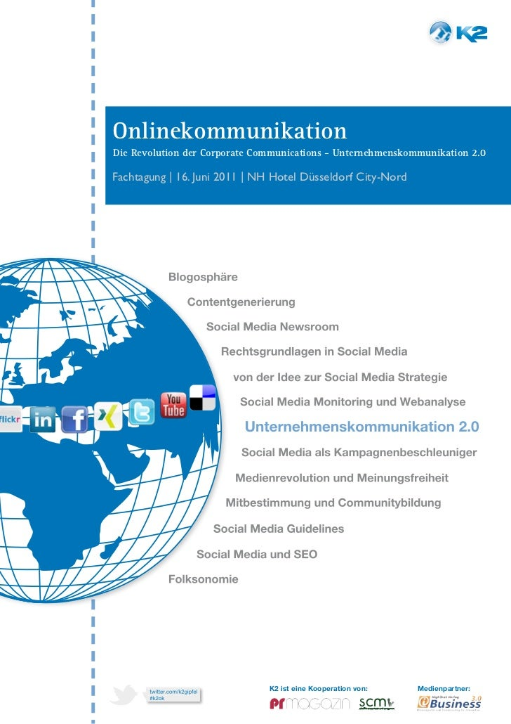 01OnlinekommunikationDie Revolution der Corporate Communications - Unternehmenskommunikation 2.0Fachtagung | 16. Juni 2011...