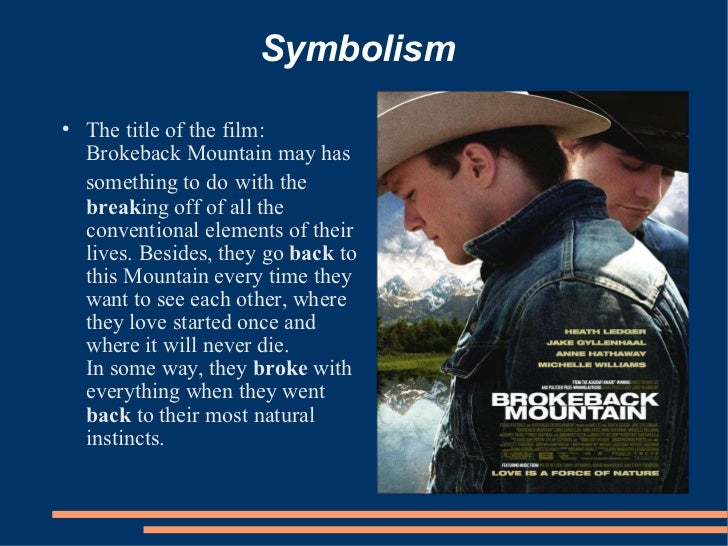 "introduction to the movie brokeback mountain film studies essay Read this english essay and over 88,000 other research documents brokeback mountain ang lee's adaptation of ""mountain"", written by annie proulx, gets two thumbs up in hollywood."