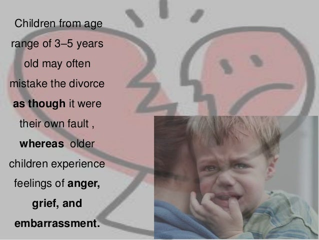 effects of broken family to a child