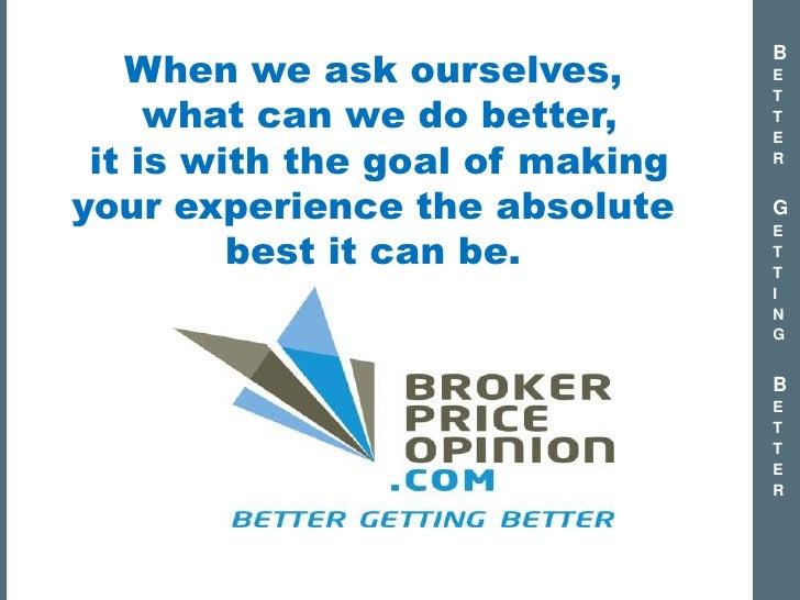 Quot Best In Class Quot Brokerpriceopinion Com