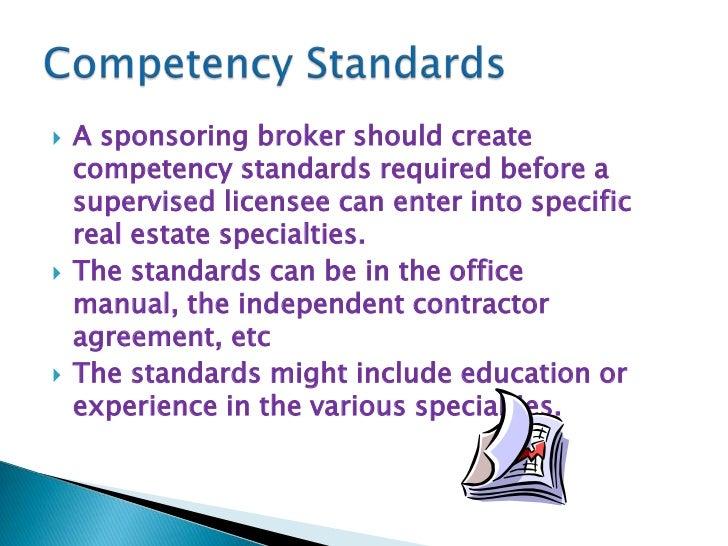 trec broker responsibility rh slideshare net Commercial Real Estate Broker Real Estate Broker License