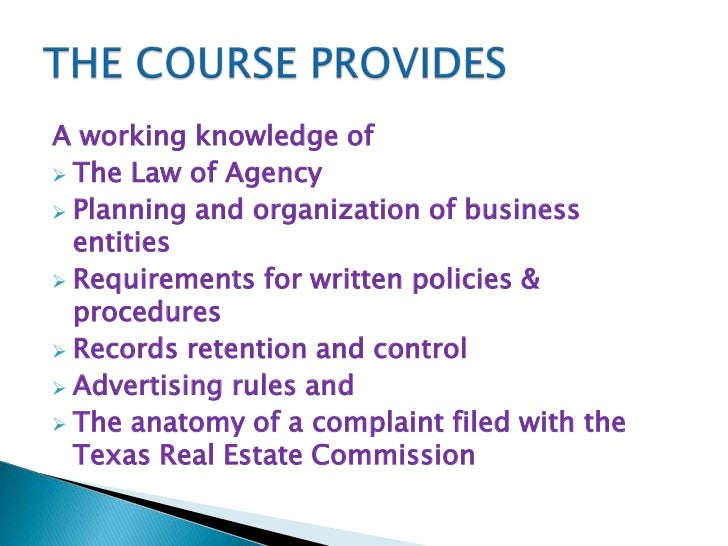 3 Real Estate License Law And Commission Rules