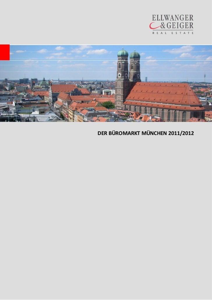 DER BÜROMARKT MÜNCHEN 2011/2012