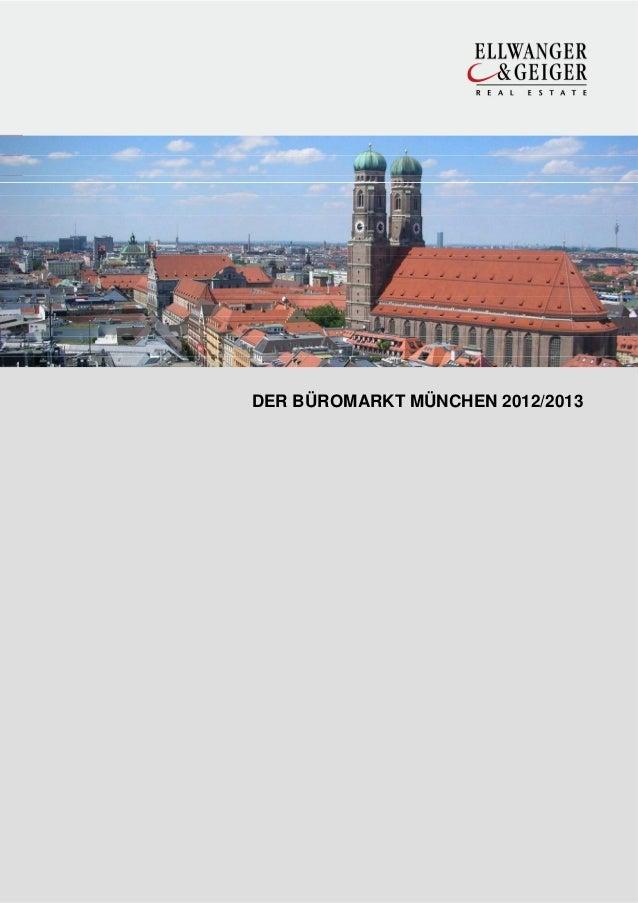 DER BÜROMARKT MÜNCHEN 2012/2013