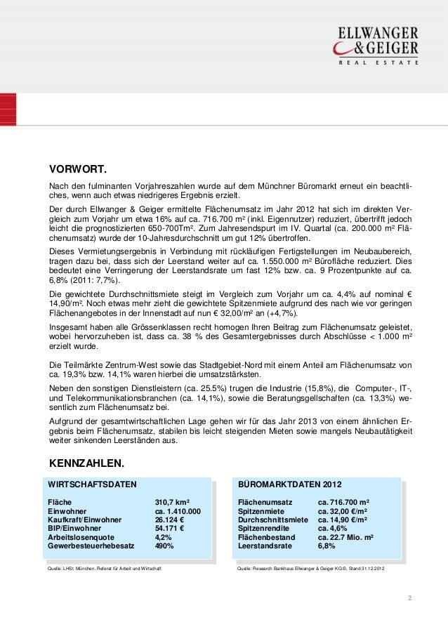 VORWORT.Nach den fulminanten Vorjahreszahlen wurde auf dem Münchner Büromarkt erneut ein beachtli-ches, wenn auch etwas ni...