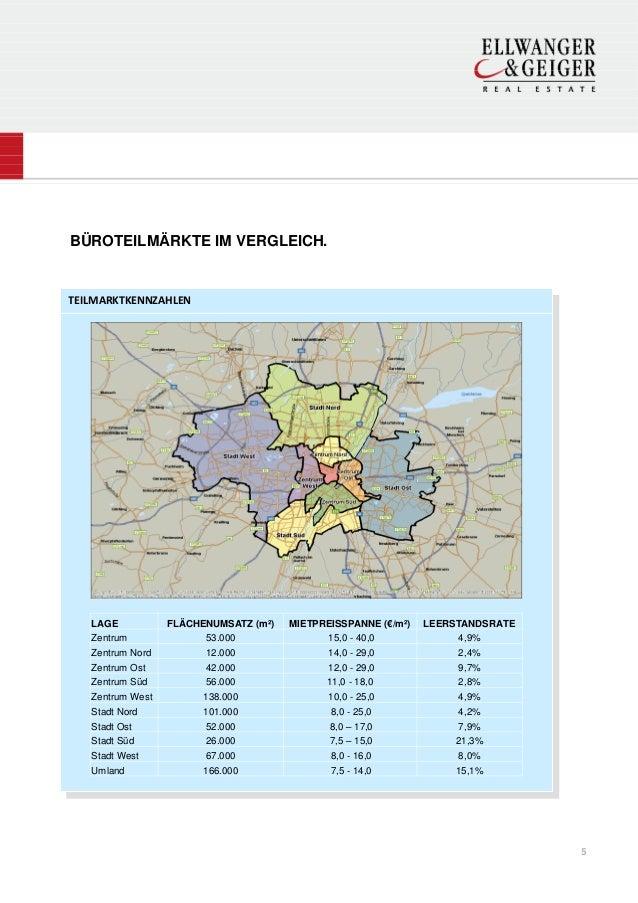 BÜROTEILMÄRKTE IM VERGLEICH.TEILMARKTKENNZAHLEN   LAGE           FLÄCHENUMSATZ (m²)   MIETPREISSPANNE (€/m²)   LEERSTANDSR...