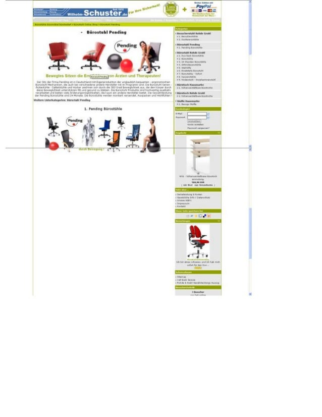 Büromöbel Onlineshop, Bürostuhl Pending