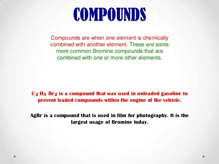 In What State Is Bromine Found At Room Temperature