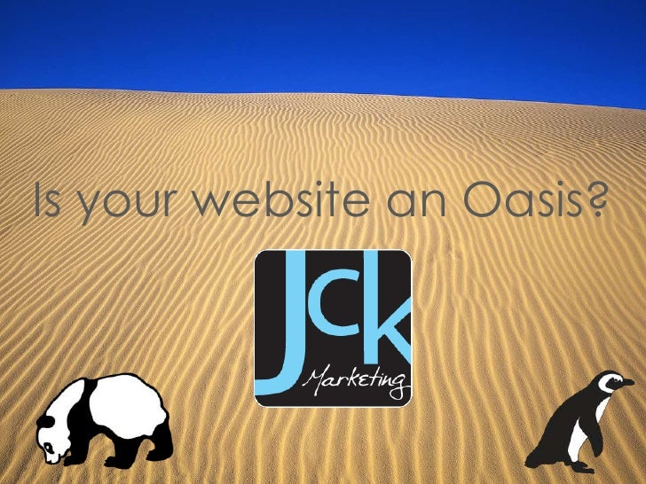 Is your website an Oasis?