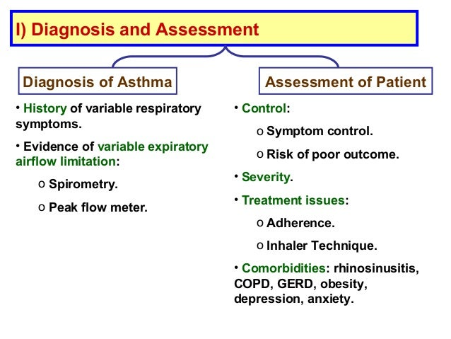 an assessment of asthma Asthma control test the act is a multidimensional, standardized, and validated tool and the most widely used tool for assessing asthma control in patients with asthma older than 12 y 8 similar to most asthma assessment tools, the act quantifies asthma control as a continuous variable and provides a numeric value to distinguish between controlled and uncontrolled asthma.