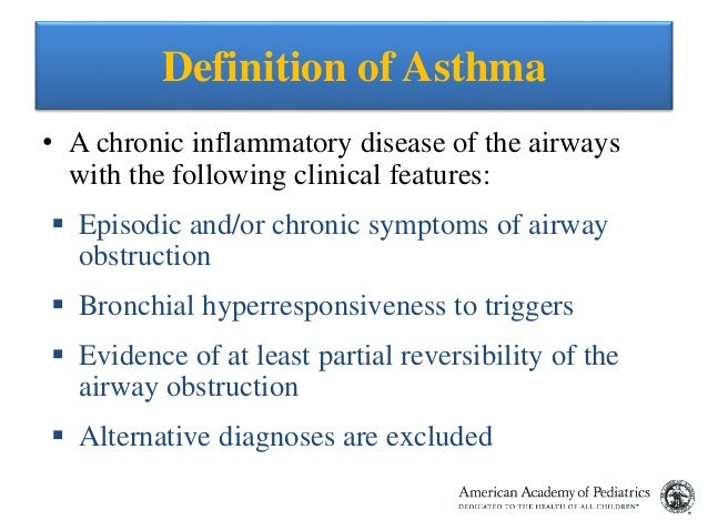 Treatment of bronchial asthma in children | Competently about health on iLive