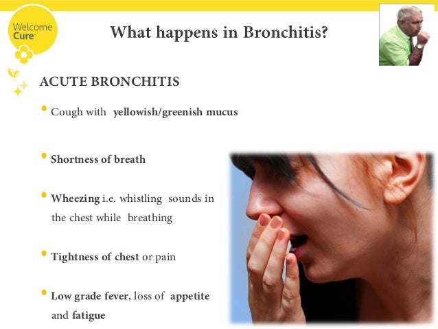 Treatment for bronchitis in adults