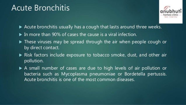 Acute and chronic bronchitis and homeopathy treatment 3 acute bronchitis sciox Image collections