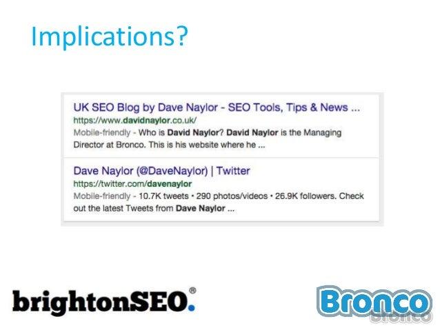 BrightonSEO - David Naylor 10th April 2015 Slide 3
