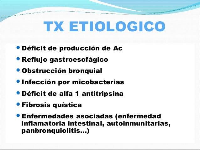 TX AGUDIZACION Antibióticos: Hasta que el esputo deje de ser purulento (mínimo 10días, con Pseudomonas 14-21) Con infec...