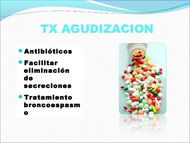EMPÍRICO.1. Agudización leveH. Influenzae Amoxicilina/clavulánico: 875/125 mg /8 h v.o.S. aureus Cloxacilina: 500-1.000 mg...