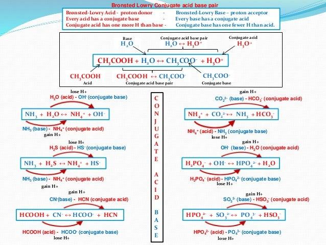 IB Chemistry on Arrhenius, Bronsted Lowry Conjugate acid ...