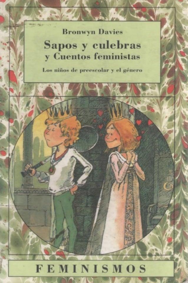 Resultado de imagen de sapos y culebras y cuentos feministas