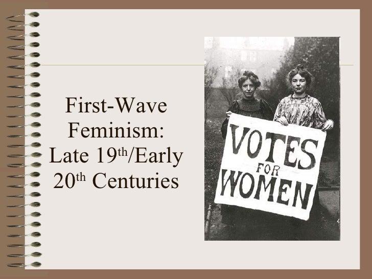first wave feminism essay